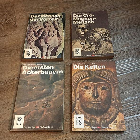 Konvolut LIFE Bildsachbücher: Der Mensch der Vorzeit: TIME-LIFE (Redaktion)