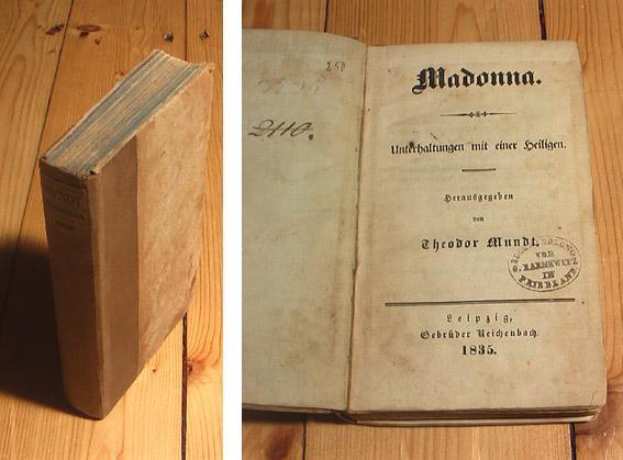 Madonna. Unterhaltungen mit einer Heiligen.: Mundt, Theodor