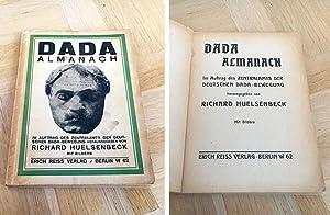 Dada Almanach. Im Auftrag des Zentralamts der: Huelsenbeck, Richard (Hrsg.)