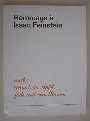 Daniel Spoerri - Hommage à Isaac Feinstein: Daniel Spoerri /