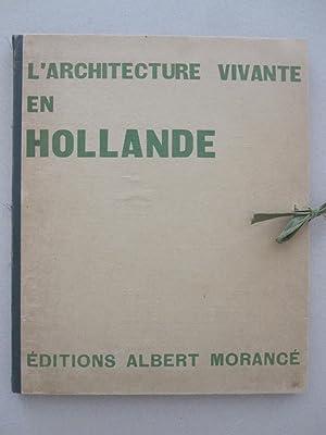 l'Architecture Vivante en Hollande (deuxième serie): J.J.P. Oud /