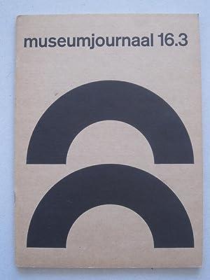 Museumjournaal serie 16 No 3 (July) 1971: Stanley Brouwn /