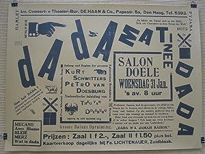 Poster Dada Matinee (Reprint): Theo (Petro) van Doesburg / Kurt Schwitters