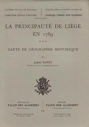 La Principauté de Liège en 1789 : RUWET Joseph