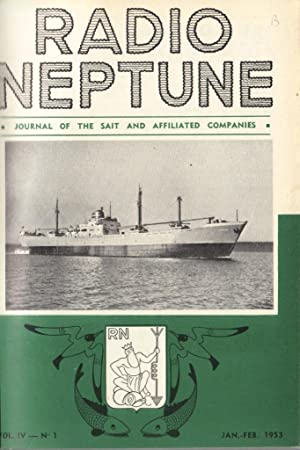 Radio Neptune, Journal of the Sait and affiliated Companies, 2 volumes: full set of 1950 (6 issues)...