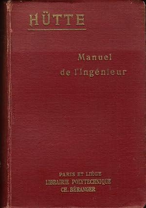 Manuel de l'ingénieur (Nouvelle édition française du manuel de la Soci&...