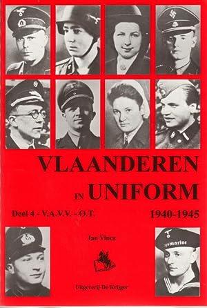 Vlaanderen in Uniform 1940-1945, Deel 4 -V.A.V.V.: VINCX Jan