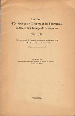 Les Ports d'Ostende et de Nieuport et: DORLODOT Baron Albert