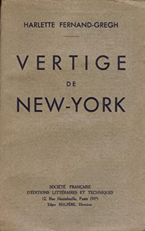 Vertige de New-York