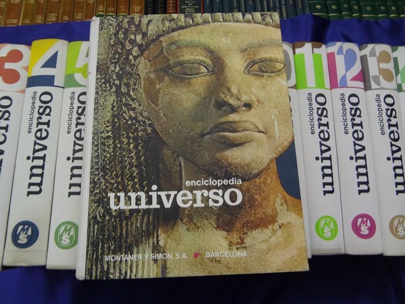 ENCICLOPEDIA UNIVERSO. 16 TOMOS. COMPLETA: JOSE MARIA GONZALEZ PORTO