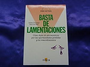 BASTA YA DE LAMENTACIONES: ARTHUR FREEMAN, ROSE DE WOLF