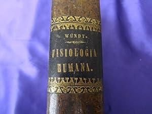 ELEMENTOS DE FISIOLOGIA HUMANA: W. WUNDT