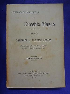 OBRAS COMPLETAS. 24 TOMOS: EUSEBIO BLASCO