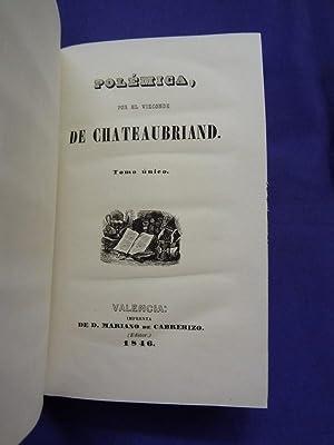 POLEMICA: VIZCONDE DE CHATEAUBRIAND