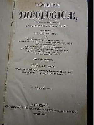 PRAELECTIONES THEOLOGICAE. 4 TOMOS: JOANNES PERRONE