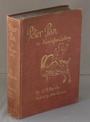 PETER PAN IN KENSINGTON GARDENS: Barrie, J M (ill Arthur Rackham)