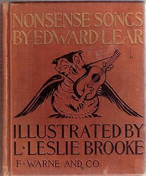 Nonsense Songs by Edward Lear: Lear, EDWARD (ill by L Leslie Brooke)