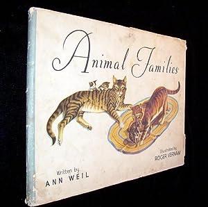 Animal Families: Weil, Ann (ill Roger Vernam)