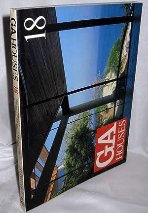 GA (Global Architecture) Houses 18: Futagawa, Yukio (editor)