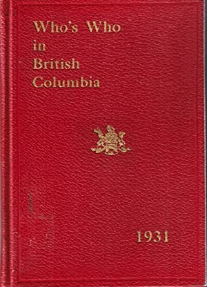 Who's Who in British Columbia 1931: Carter, S M