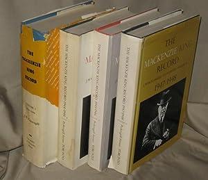 The Mackenzie King Record: Vol 1. 1939 - 1944, Vol 2. 1944/1945, Vol 3. 1945/ 1946. Vol 4...