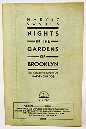 Nights in the Gardens of Brooklyn [Saul Bellow's copy]