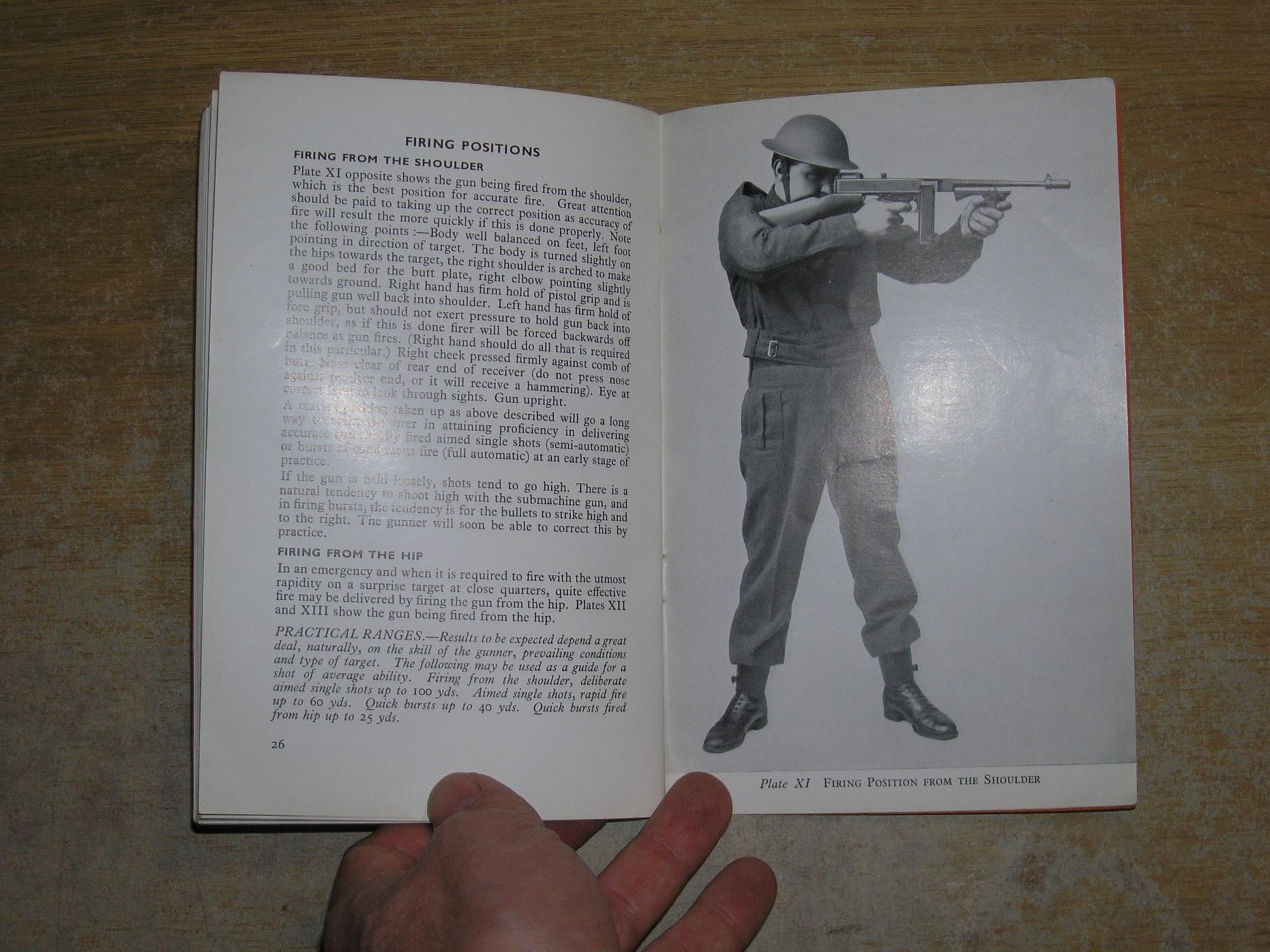 The Thompson Submachine Gun Mechanism Made