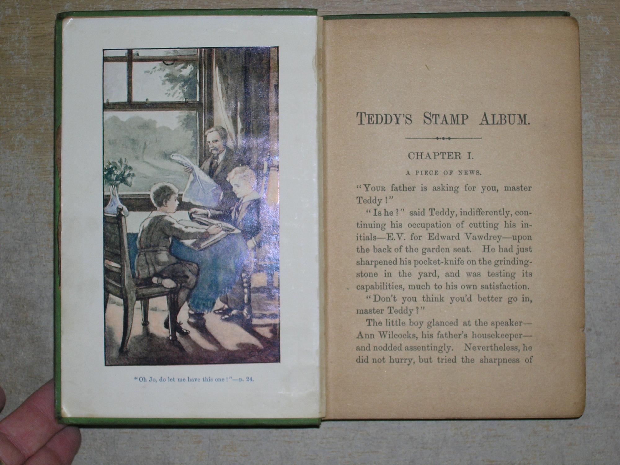 Teddy's Stamp Album