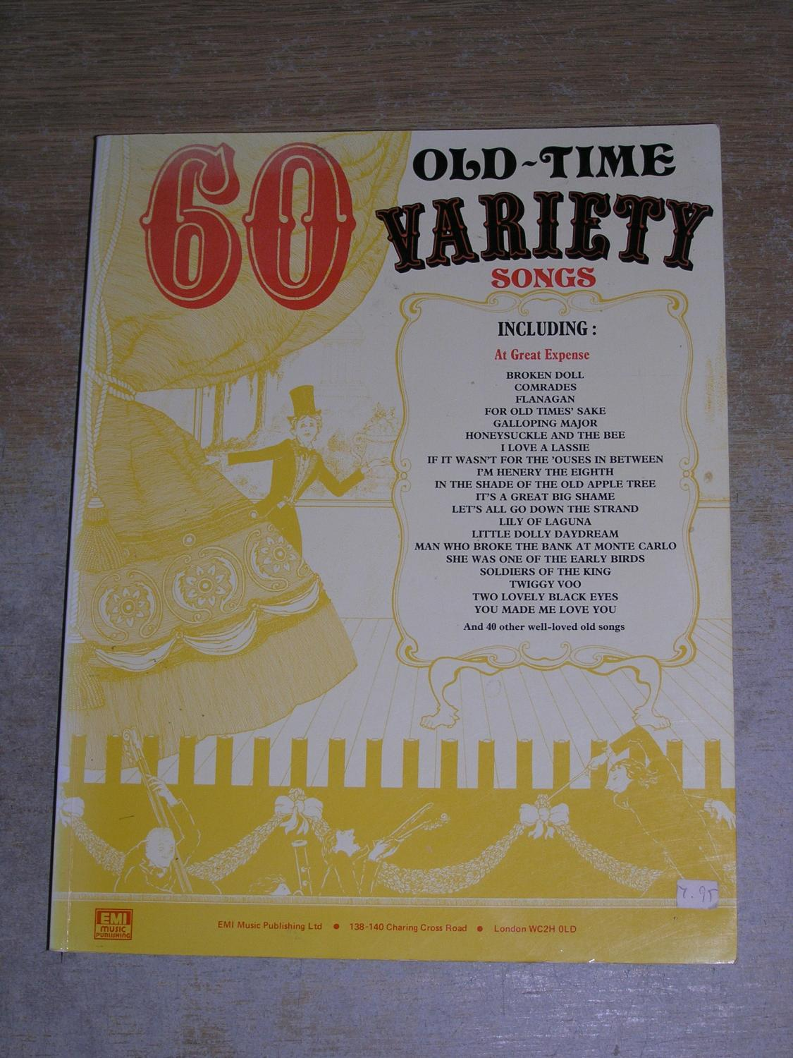 60 Old time Variety Songs