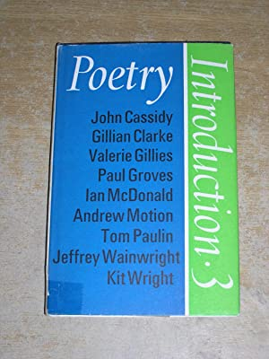 Poetry Introduction 3: John Cassidy, Gillian