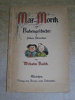 Mar und Morik eine Bubengeschichte in Sieben: Wilhelm Busch