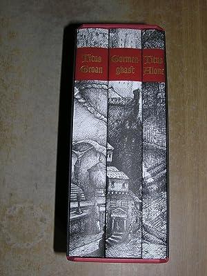 The Gormenghast Trilogy - Titus Groan, Gormenghast,: Mervyn Peake