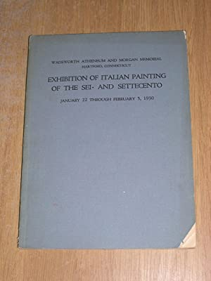 Exhibition Of Italian Painting Of The Sei-