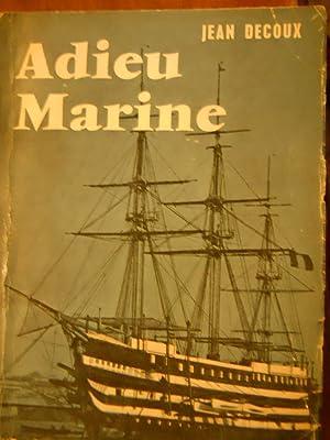 Adieu Marine - Borda, 1901 - Gouvernement: DECOUX, Jean