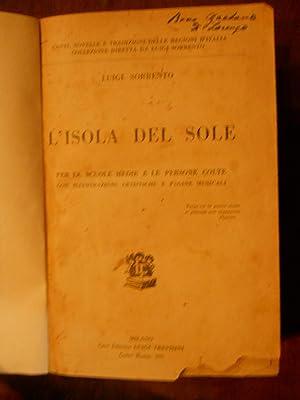 L'ISOLA DEL SOLE., PER LE SCUOLE MEDIE: SORRENTO LUIGI