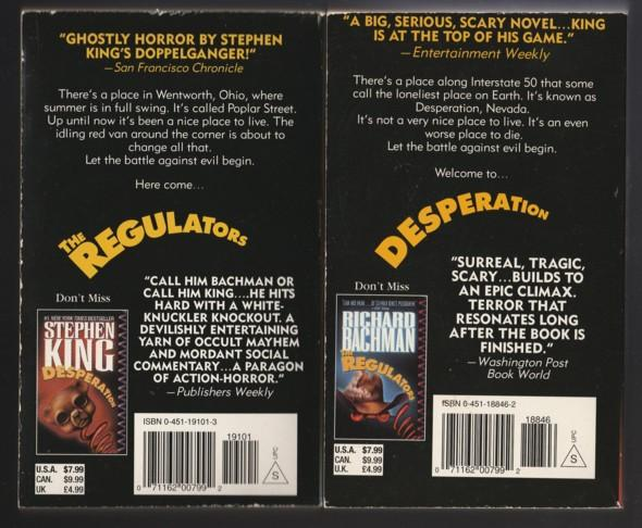 Stephen King Box Set: Desperation, The