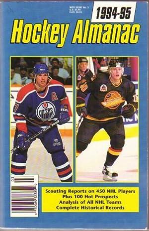 Hockey Almanac 1994 - 95 .Consumer Guide: Hughes, Morgan; Tully,