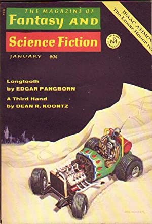 The Magazine of Fantasy and Science Fiction January 1970 .A Third Hand, Car Sinister, Longtooth, ...