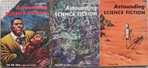 """Astounding Science Fiction August September & October 1955 3 Issues featuring """"Call Him ..."""