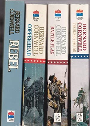 Starbuck Chronicles: volume (1) one - Rebel; volume (2) two - Copperhead; volume (3) - Battle Flag;...