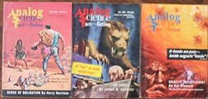 Analog Science Fact & Fiction September, October: Campbell, John W.