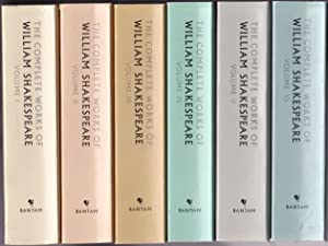 The Complete Works of William Shakespeare: 6 (six) volume Set - Volumes 1, 2, 3, 4, 5, 6 -(six bo...