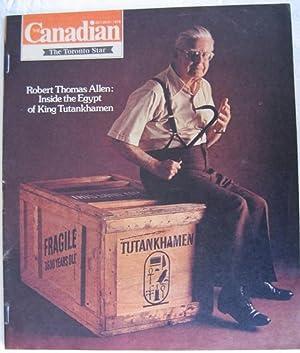 Canadian Magazine October 20/21 1979, Inside the Egypt of King Tutankhamen, C. D. Howe, ...