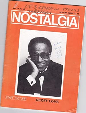 Nostalgia - Vol 10, # 40, Autumn - Tiny Winters, CAS Welcomes Billy Amstell, Beryl's Glenn ...