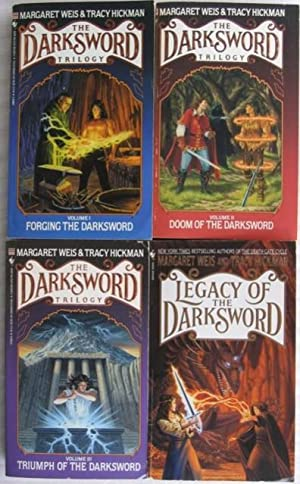 Darksword series: book (1) one - Forging the Darksword; book (2) two - Doom of the Darksword; book ...