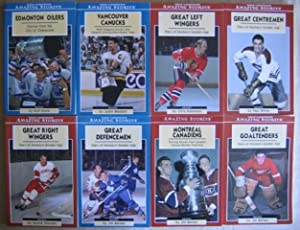 True Canadian Amazing Stories: (8 books) Great Goaltenders; Montreal Canadiens; Great Defencemen; ...