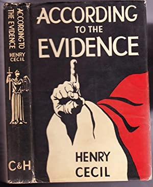 According to the Evidence -(A book in the Colonel Brain series)-: Cecil, Henry