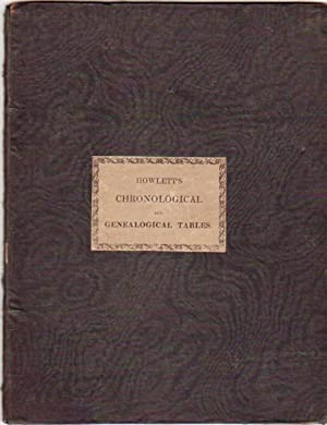 Tables of Chronology and Regal Genealogies; Combined and Separate - Second Edition