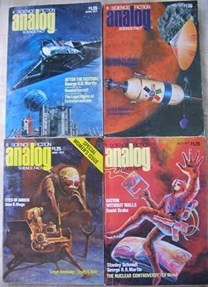 Analog Science Fiction - Science Fact, April,: Bova, Ben (ed)