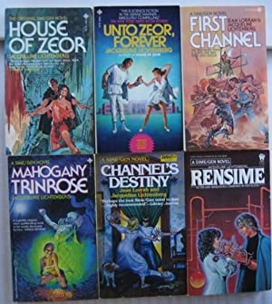 Sime/Gen series: book 1 - House of Zeor; book 2 - Unto Zeor, Forever; book 3 - First Channel; book ...